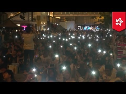 Hong Kong protesters are ready to confront police suppression in any form for democracy
