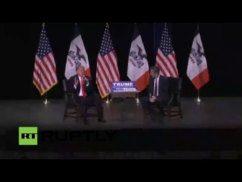 LIVE: Trump holds rally in Sioux City ahead of Iowa caucuses