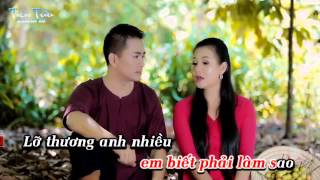 Karaoke LO THUONG NHAU ROI karaoke full beat DHL ft HNCB