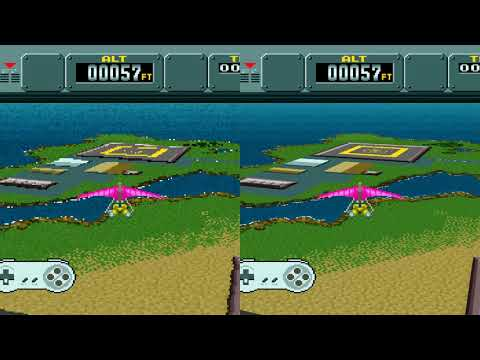 "HD emulation mod makes ""Mode 7"" SNES games look like new"