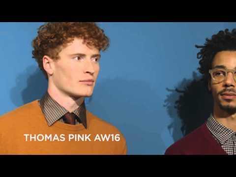 Thomas Pink Fall/Winter 2016/2017 Menswear Collection - London Fashion Week