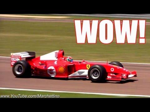 Ferrari F1 V10 vs V12 EPIC Sounds!