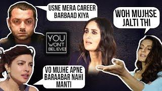 Priyanka Chopra John Abraham Dia Mirza  Stars Who HATE Kareena Kapoor  You Wont Believe
