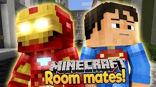 Minecraft Roomates! Baby Iron man and Baby Superman Look For Apartments!