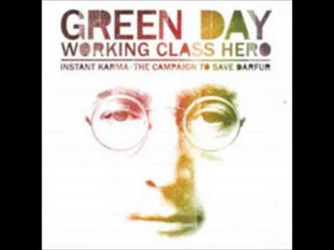 Green Day Working Class Hero (Uncensored version)