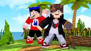 Minecraft: RAFT - PLANTAÇÃO DE COMIDA - ‹ JUAUM › #02