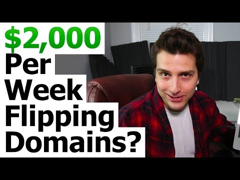 Domain Name Flipping – A $2000 a WEEK Online Business