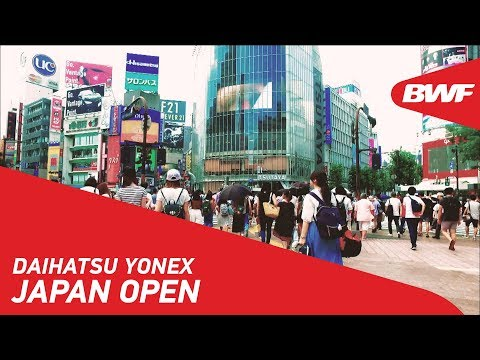 DAIHATSU YONEX Japan Open | Promo | BWF 2018