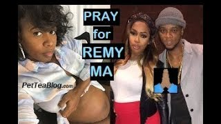 Remy Ma Having a Tough LABOR, Papoose Asks for Prayers for the Golden Child