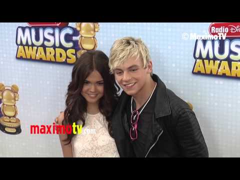 Ross Lynch and Maia Mitchell 2013