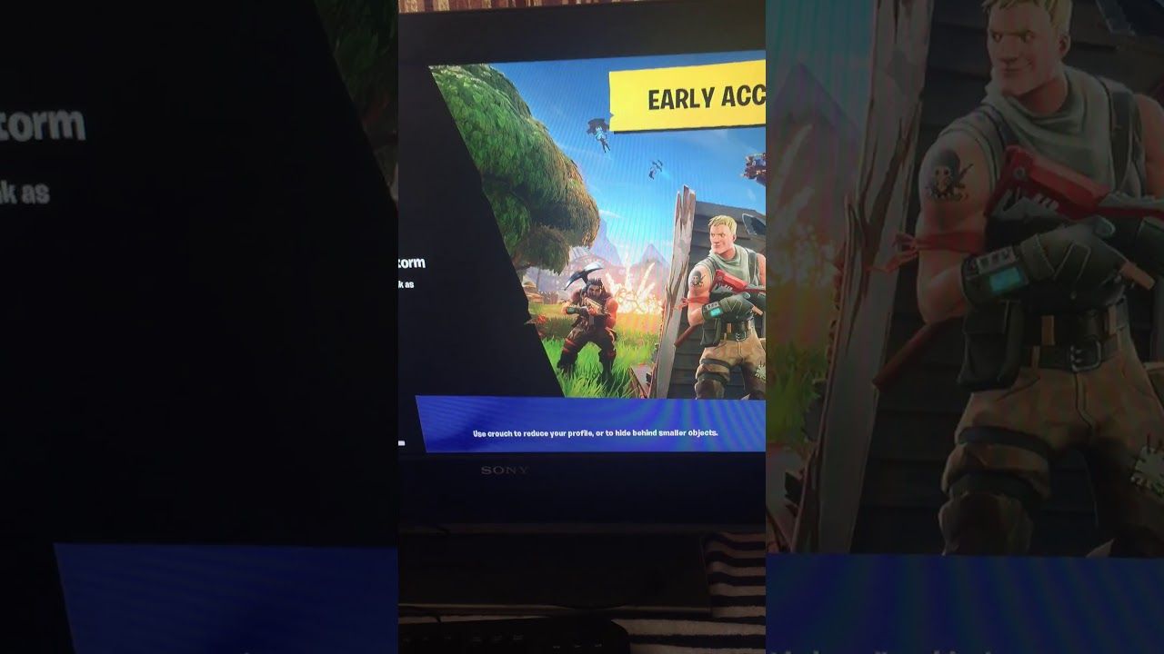 how to stop screen tearing in fortnite