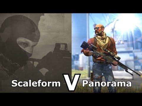 CS:GO's Panorama UI VS Older Versions