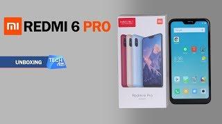 Redmi 6 Pro Smartphone: Unboxing   Tech Tak