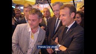 VivaTech jour 1 - Bernard Arnault et Emmanuel Macron nous répondent !