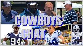 COWBOYS CHAT: The Big 3 Speak; Randy Gregory Update; Tyrone Crawford & Others Talk; NFL News & More!