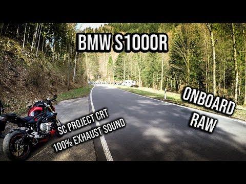BMW S1000R | SC Project | RAW Onboard | Sozius | Black Forest
