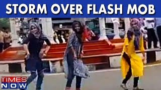 Storm Over Flash Mob By Muslim Girls, Video Goes Viral On Social Media