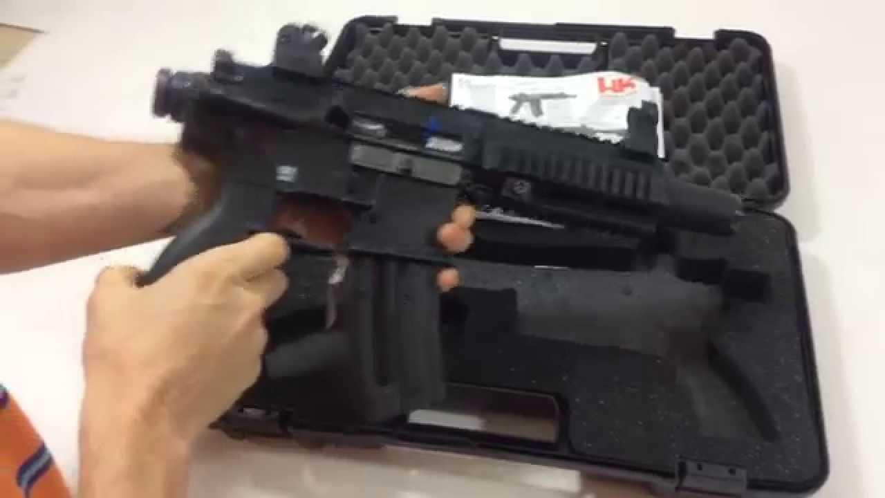 Hk 416  22 LR Pistol Review (Heckler & Koch)