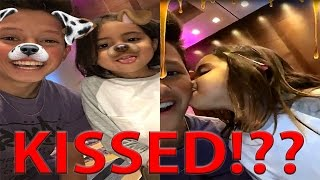 Jacob Sartorius Kissed by the Cutest Girl!