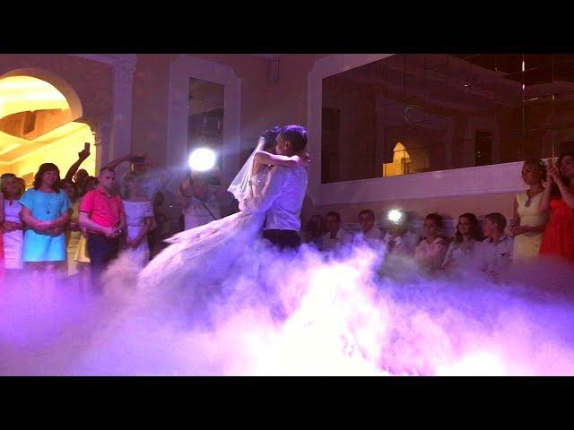 Важкий дим на весілля ресторан Шахтар Червоноград