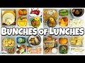 THANKSGIVING themed HOT Lunch Ideas and Sandwiches 🍎 K, 1st Grader, 4th Grader  Bunches of Lunches