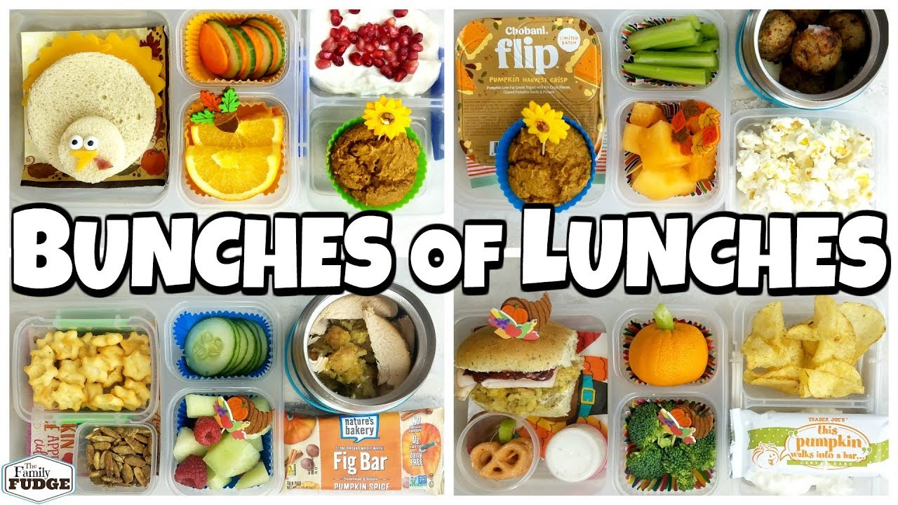 f43e898b780f THANKSGIVING themed HOT Lunch Ideas and Sandwiches 🍎 K, 1st Grader, 4th  Grader Bunches of Lunches