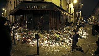 Thousands in Paris attend memorial service for Friday