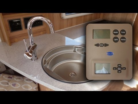 How to use the Alde heating and water heating system