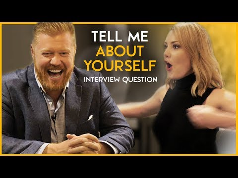 """Interview Question: """"Tell Me About Yourself"""" The Perfect Answer 🏆"""