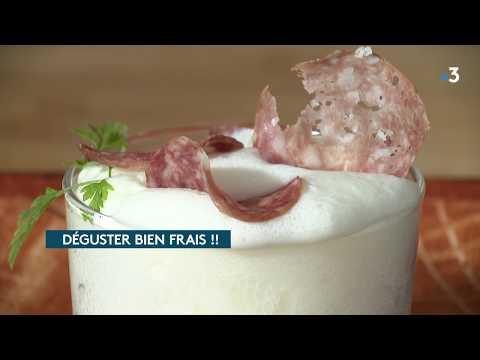 recette-franc-comtoise-:-endive-braisée,-chantilly-cancoillotte-et-chips-de-morteau.