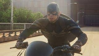 Капитан Америка сбегает из Щ.И.Т.'а. Первый мститель: Другая война. 2014