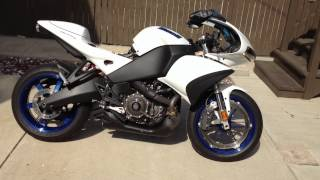 buell 1125r modified exhaust by randy hawkins