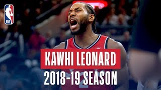 Download Kawhi Leonard's Best Plays From the 2018-19 NBA Regular Season Mp3 and Videos