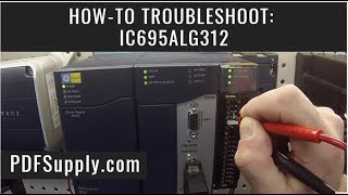 IC695ALG312 Thermocouple GE IP PLC How-to Test GE IP Proficy Machine Edition Tutorial ALG312