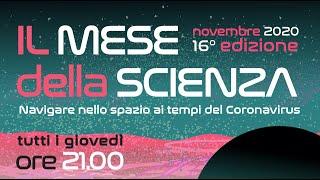 Presentazione del Mese della Scienza 16ma edizione (Novembre 2020)