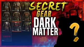 "SECRET GEAR  in BLACK OPS 3! Secret Classified ""HERO"" Gear - BO3 How To Unlock ""DARK MATTER"" CAMO"