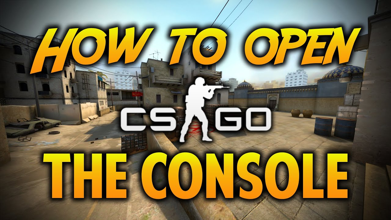 how to turn on console in csgo