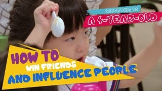 How To Win Friends and Influence People, According To 4-year-olds   Don't Kid Around   CNA Insider