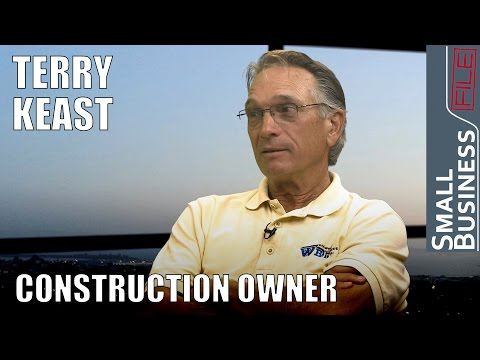 Construction Owner Terry Keast