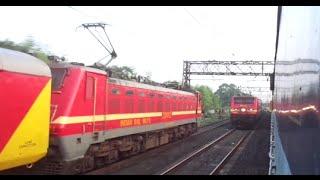 The ultimate rivalry - WAP4 Ranchi Shatabdi vs WDM3D Ganadevta - Part 3.. thumbnail