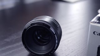 Canon EF 50mm F/1.8 Review!