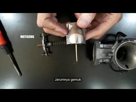 Tips Karburator Supaya Putaran Tengah Tidak Ngempos Loyo Atau Telat Respon Kurang Bensin