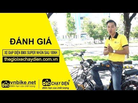 Đánh giá xe đạp điện Bmx Super nhún sau 18inh