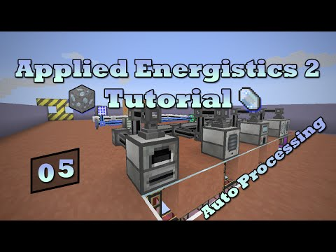 Applied Energistics 2 Tutorial - Episode 5 - Smelting/Pulverizing
