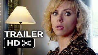 Repeat youtube video Lucy Official Trailer #1 (2014) - Scarlett Johansson Movie HD