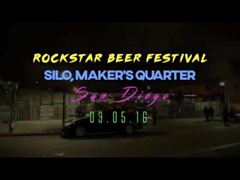 Rock Star Beer Festival San Diego 2016 Highlight Video