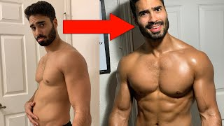 SIX PACK IN 6 WEEKS - Step By Step Transformation
