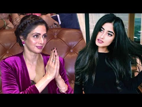 Sridevi Reacts On Working With Pakistani Actress Sajal Ali In Mom Movie thumbnail
