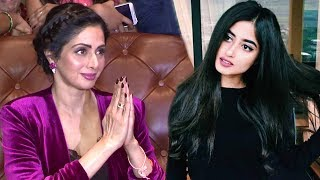 Sridevi Reacts On Working With Pakistani Actress Sajal Ali In Mom Movie