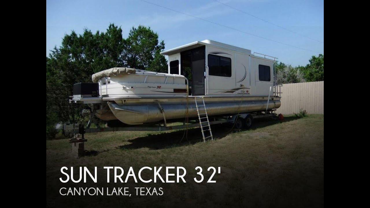 Sold Used 2006 Sun Tracker 32 Party Cruiser In Canyon